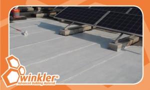 חומר איטום ומפחית קרינת השמש-בידוד מחום