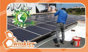 חומרי איטום והפחתת חום לגגות בתים, מבנים מסחריים, מכולות ומבנים ניידים